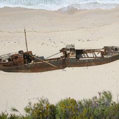 die Schiffswrackbucht