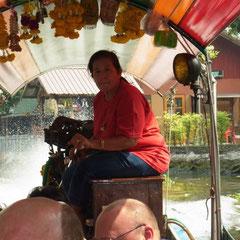 unsere Bootsführerin