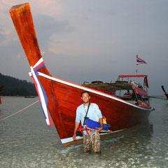 """wieder zurück  - """"Sole"""" und sein Boot"""