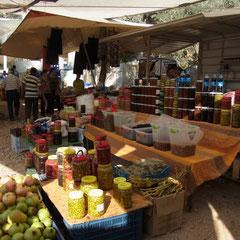 auf dem Wochenmarkt in Kaş