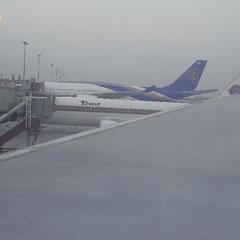 Ankunft in Bangkok - Suvarnabhumi Airport