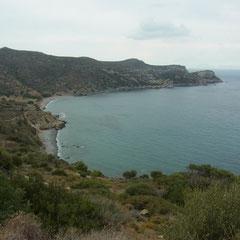 und immer wieder schöne Blicke auf Buchten