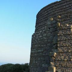 """Ruine des """"dorischen Tempels der Athena"""""""