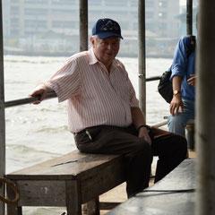 Opa Walter auf Seereise