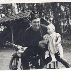 Gerd Köneke und Gisela Freye 1955