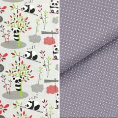 Design PANDA Rot/Grau