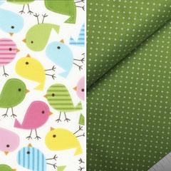 Design VÖGEL Grün