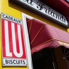 Personne ne peut manquer La Friande avec sa facade aux couleurs du soleil à l'image des personnes qui vous y accueillent