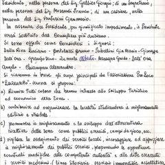 Statuto originale Pro Lazzaretto pag.1