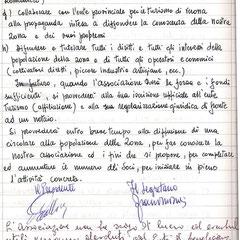Statuto originale Pro Lazzaretto pag.2