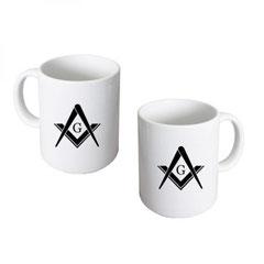 Mug avec symbole maçonnique