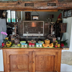 domaine de Millox, petits déjeuners buffet