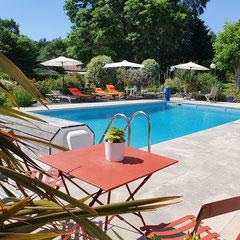 Domaine de Millox, la piscine