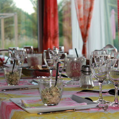 table d'hôtes au domaine de Millox
