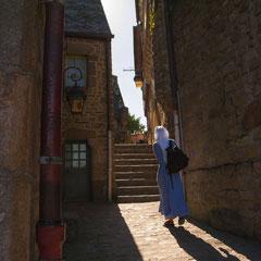Christian : Mont St Michel - Voile 2