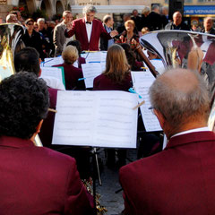 Michel Mollaret : Fanfare en concert