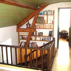 Atelier Marquis - Cloison en bardage intérieur avant travaux