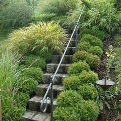 Handlauf im Garten