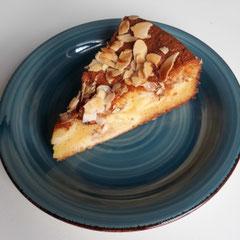 Apfel-Schüttelkuchen Stück glutenfrei