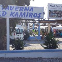 Taverne, Old Kamiros, Rhodos
