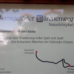 Märchenweg, Wernigerode, Harz, Sachsen - Anhalt