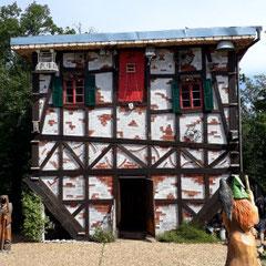 verrücktes Haus, Hexentanzplatz, Thale, Harz, Sachsen-Anhalt