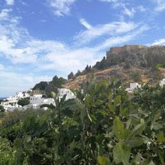 Lindos mit Akropolis, Rhodos
