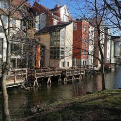 unweit der Krämerbrücke, Erfurt, Thüringen