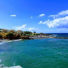 Blick auf Strand, Grecotel Marine Palace, Kreta