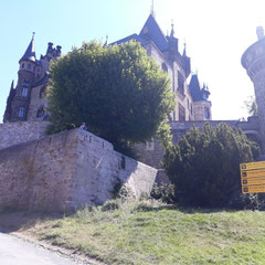 Blick aufs Schloss, Schloss Wernigerode, Harz, Sachsen - Anhalt