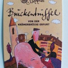 Brückentrüffel der Goldhelm Schokoladenmanufaktur, Erfurt, Thüringen