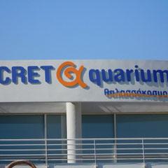 Eingang, Aquarium, Kreta