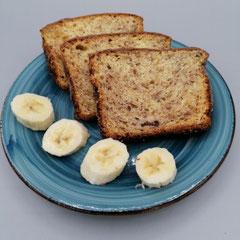 Bananenrührkuchen, glutenfrei