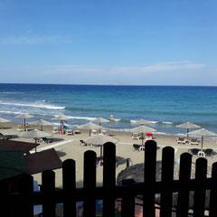 Strand Taverne, Old Kamiros, Rhodos
