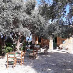 Innenhof, Agreco Farm, Kreta