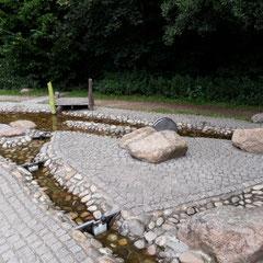 Wasserspielplatz, Ilsenburg, Harz, Sachsen-Anhalt