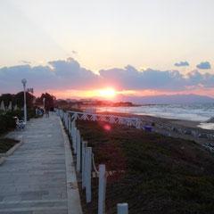 Strandpromenade, Hotel Lyttos Beach, Kreta