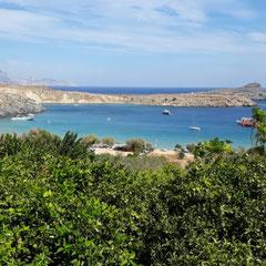 Bucht vor Lindos, Rhodos