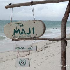Strand, Hotel, The Maji Beach Boutique Hotel, Südküste, Diani Beach, Kenia, Afrika