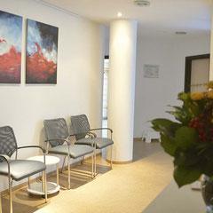 Ergotherapiepraxis Wartebereich