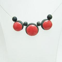 acheter ce collier trio pop rouge