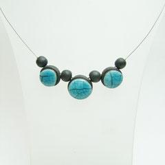 description détaillées de ce bijou d'art en céramique