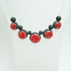 voir collier  création artisanale en céramique