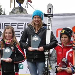 Platz 1 für Katrin im Combi Race