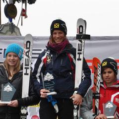 Katrin Hinterholzer Platz 2 im SG hinter Carina Dengscherz