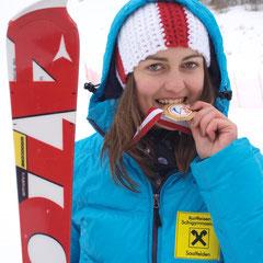 Hannah Köck mit Biss zu Gold ;o)