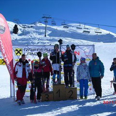Platz 1 Katrin; Platz 2 Carina Dengscherz; Platz 3 Bernadett Lorenz
