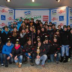 Gruppenfoto TSV Teilnehmer