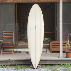 6'6 Hollow Point by Kookbox Surfboard / Shaped by Jeff Mccallum