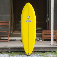 5'10 Quad by Tudor Surfboard / Shaped by Jeff Mccallum